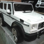 Электромобиль mercedes-benz g65 amg big Лицензия White, Челябинск
