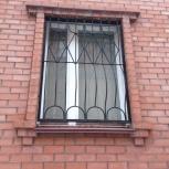 Продам Евро Окна деревянные с решетками металлическими, Челябинск