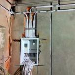 Прокладка кабеля, разводка на два, Челябинск