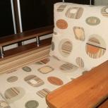 Кресло новое, прочное, с пуфом, Челябинск