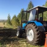 Расчистка участков и с/х полей мульчером, Челябинск