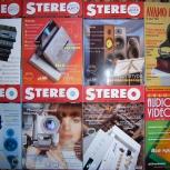 Журналы Stereo & Video–Салон Audio Video–Аудио Магазин, Челябинск