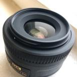 Объектив Nikon DX AF-S Nikkor 35mm 1:1.8G, Челябинск
