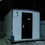Утепленная бытовка под мобильный офис,сад. домик, Челябинск