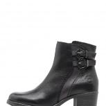 Ботинки демисезонные 39рр женские на среднем каблуке, Челябинск