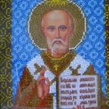 Вышитая бисером икона, Челябинск