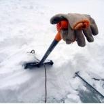 Уборка снега. Чистка снега с кровли, Челябинск
