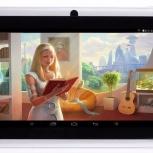 Новый планшет 4 ядра с Bluetooth гарнитурой, Челябинск