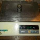Весы электронные CAS порционные до 10кг, Челябинск