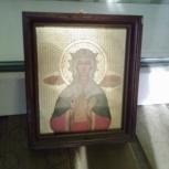 Икона Святой Людмилы из Храма в Виноградах, Прага, Челябинск