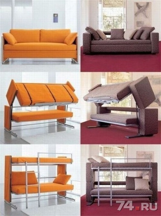 диван двухъярусная кровать трансформер новый на заказ фото