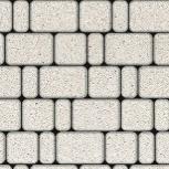 Тротуарная плитка Классико Гранит 115х57х60 Белая, Челябинск