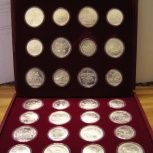 Набор серебряных монет СССР Олимпиада-80, Челябинск