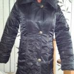 Продам черный зимний плащ, Челябинск