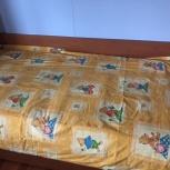 покрывало детское. на синтепоне.ткань хб. производство Германия, Челябинск