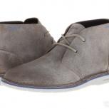 Продам ботинки Clarks Sandover Hi Grey Chukka Boots 41, Челябинск