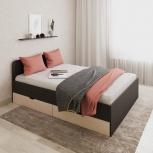 Новая двуспальная кровать 49 с ящиками, Челябинск