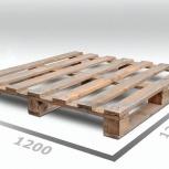 Европоддоны деревянные ТУ 1200*1200 1 сорт облегченные, Челябинск