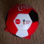 Мяч футбольный coca-cola fifa чм-2018, Челябинск