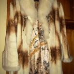 Продам шубку из кролика, белого цвета, б/у в хорошем состоянии, Челябинск