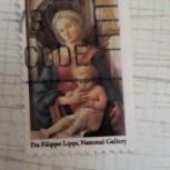 Марка США гашеная 1984г Мадонна с ребёнком, Челябинск
