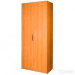 Пенал-шкаф двустворчатый для одежды почти новый, Челябинск