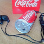 Мини-радио/FM радиоприемник Coca-Cola/Кока-Кола, Челябинск