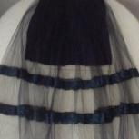 Черная юбка с сеткой. Италия, Челябинск