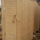 Туалет деревянный для сада, Челябинск