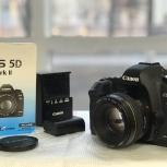 Фотоаппарат Canon EOS 5D Mark II + Canon 50mm f/1.4, Челябинск