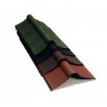Коньковый элемент Ондулин коричневый длина - 1м, п, Челябинск