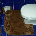 Коврики для туалета (палас)-2 шт., Челябинск
