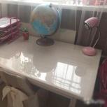 Покрытие на письменный стол прозрачное 3мм акрил, Челябинск