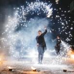 Огненное и огненно-пиротехническое шоу (фаер-шоу, fire show), Челябинск