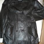 Продам куртку-пиджак, кожа, Челябинск