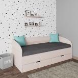 Новая односпальная кровать 61 с ящиками, Челябинск