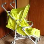 Продам прогулочную коляску-трость GEOBY салатового цвета, Челябинск