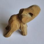 Слон деревянный резной, Челябинск