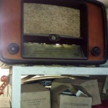Старый ламповый радиоприёмник Вэф, Челябинск