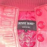 Кожаная куртка Denny Roze, Италия, Челябинск