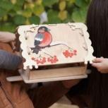 Кормушка (скворечник) для птиц с местом для декупажа, Челябинск