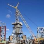 Монтаж башенных кранов, Челябинск