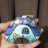 Сувенир каменные домики, Челябинск