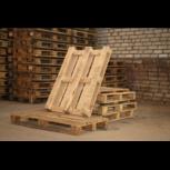 Поддон деревянный б/у ТУ 120*80 2 сорта, Челябинск