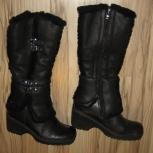 Продаются женские зимние сапоги , кожаные, Челябинск