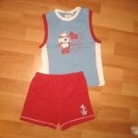 Костюм (футболка и шорты) для мальчика 98см, Челябинск