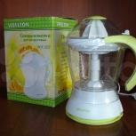 Новая соковыжималка Wellton WJC-202. В коробке, Челябинск