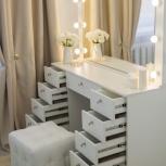 Туалетный столик с зеркалом и подсветкой, Челябинск