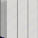 Радиатор алюминиевый 3-секционный, Челябинск