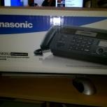 Факс Panasonic KX-FT982RU-B новый, Челябинск